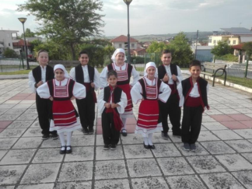 Συμμετοχή του παιδικού τμήματος στο Φεστβάλ στην Κριθιά